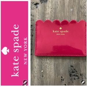 NWT Kate Spade Patent Leather ID/Card Holder